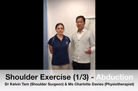 Shoulder Exercise 1 - Abduction