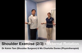Shoulder Exercise 2 - External Rotation